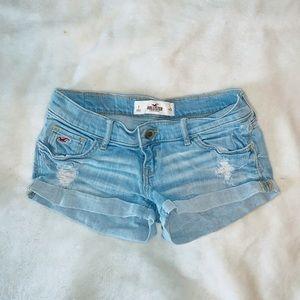 Hollister Mini Jean Shorts